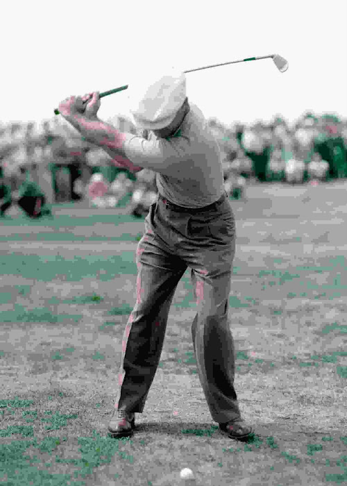 1953 Color Ben Hogan Photo