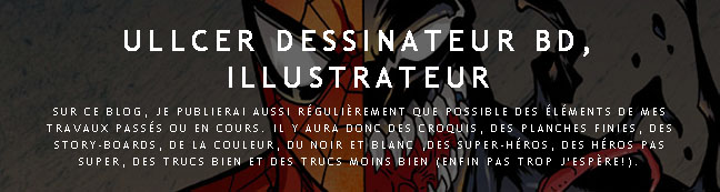 ULLCER dessinateur BD, illustrateur