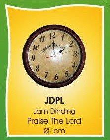 Souvenir Kristen  Jam Dinding Peace e7c371065e