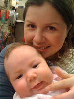 Mom & Milla at the bookstore