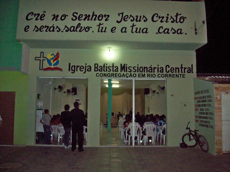 Igreja Batista Missionária Central | Petrolina-PE