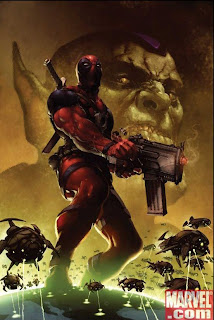 Deadpool Cover Art