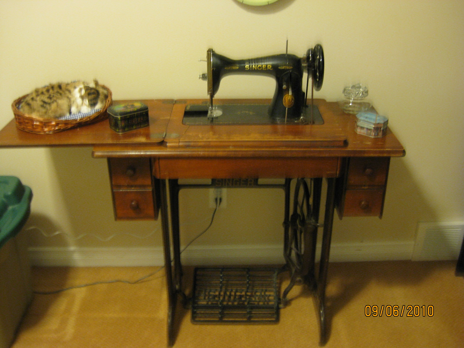 Sew A Musing Treadle Sewing Machine