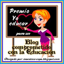 """PREMIO """"YO AMO EDUCAR'"""""""