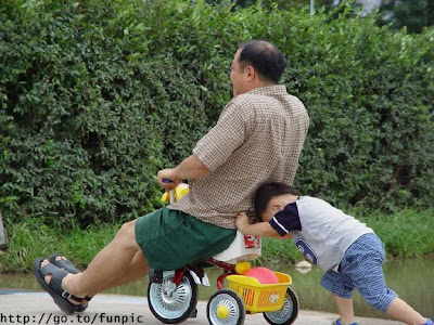 Empujando a papa