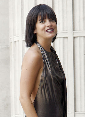Lily Allen Wardrobe Malfunction Music on Video Set
