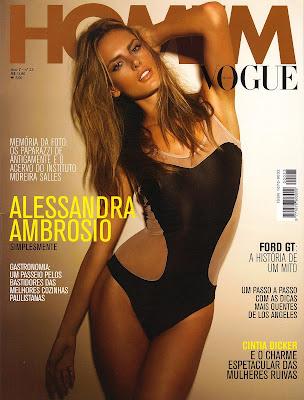 Alessandra Ambrosio - Vogue Magazine Scandal