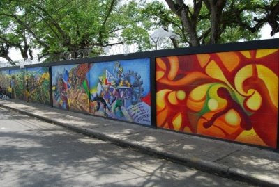 Entornos rep blica dominicana salcedo murales for Jardines murales