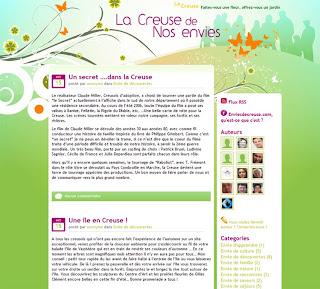 page d'accueil du blog enviedecreuse