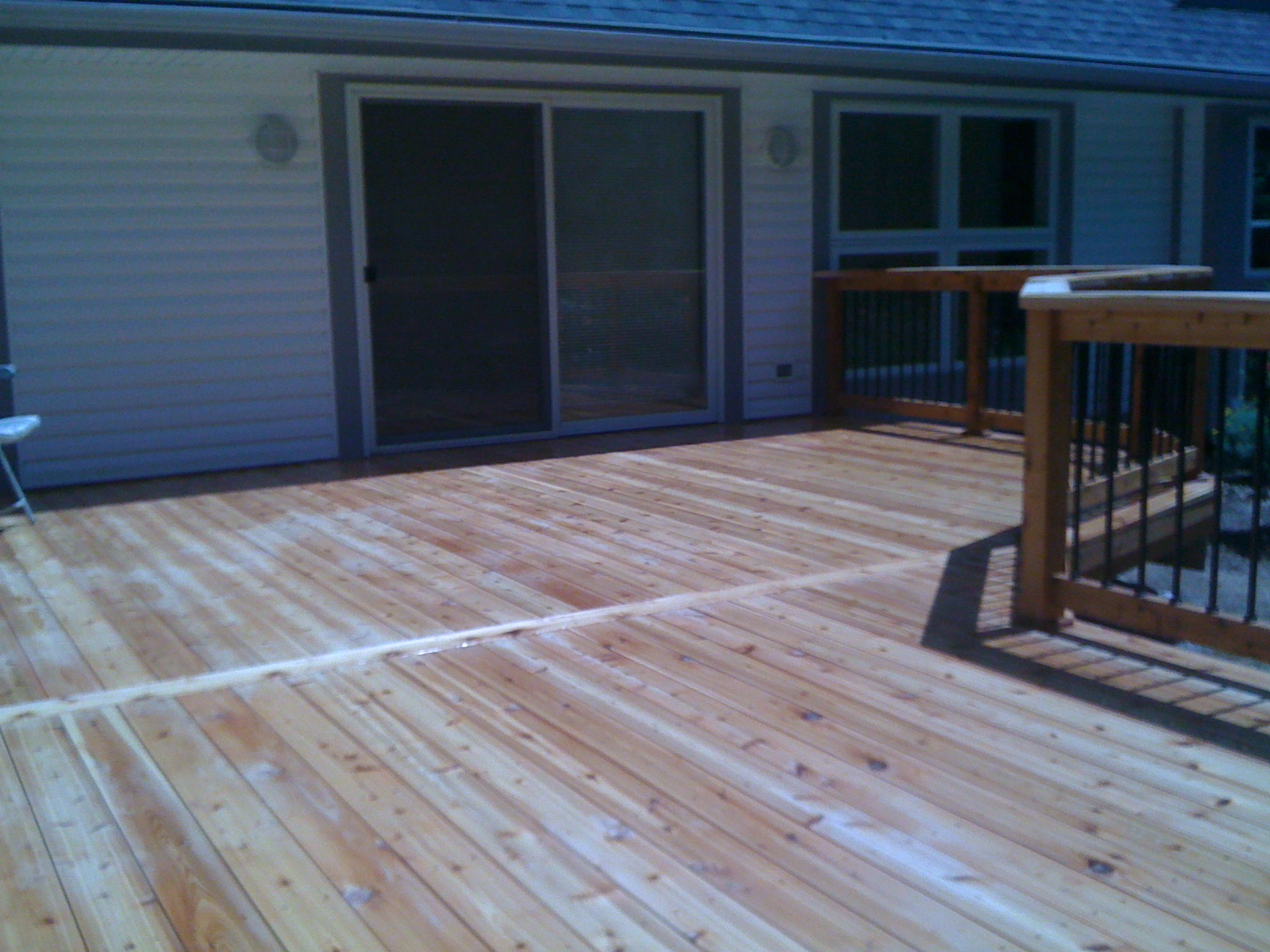 how to put down decking boards