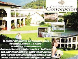 Casa Convento Concepción un lugar elegante, amplio y accesible en Antigua.