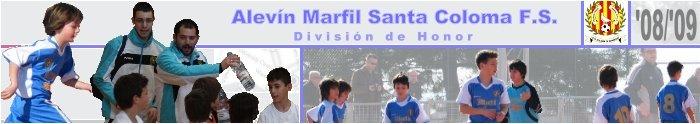 Marfil Santa Coloma - Alevín Div. Honor