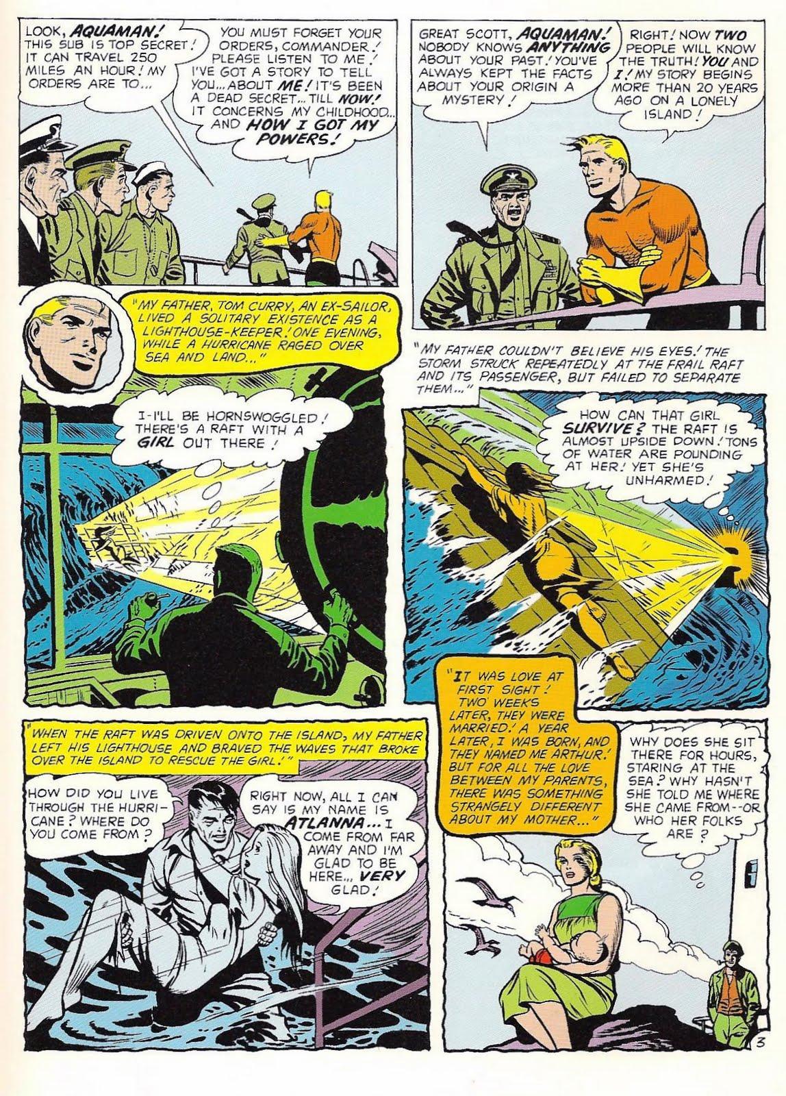 Silver Age Gold: Not-So-Secret Origins of the JLA - Aquaman