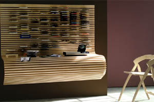 gadgetvice bureau et range cd mural le tout en un. Black Bedroom Furniture Sets. Home Design Ideas