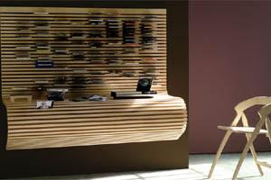 gadgetvice bureau et range cd mural le tout en un. Black Bedroom Furniture Sets. Home Design Ideas