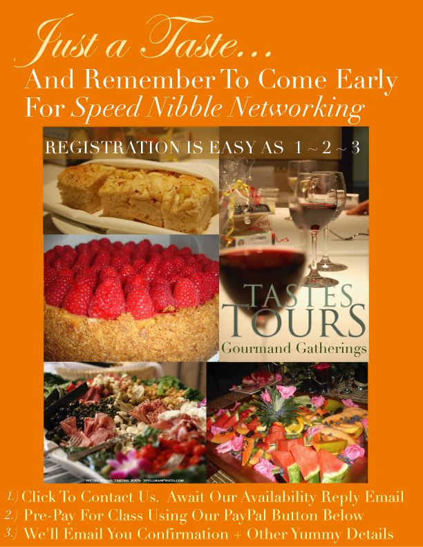 Hurry to Register For Gourmand Gatherings