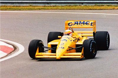 Lotus (clássica), equipe histórica de Formula 1 de 1988 - by rrminis.blogspot.com