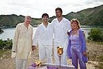 Malachy, Luis, Jason and Anna