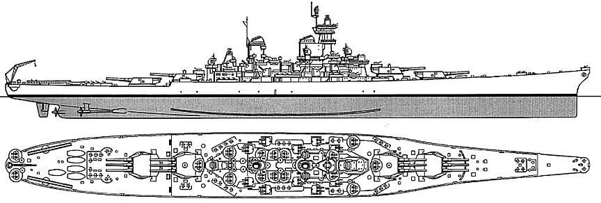 navy ship  baltimore class heavy cruiser    diagram    plan