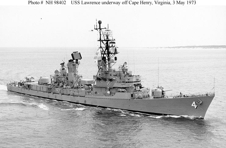 navy ship  us navy destroyers in the 1970 s