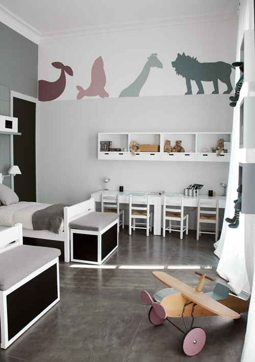 yarah designs unisex kids room. Black Bedroom Furniture Sets. Home Design Ideas