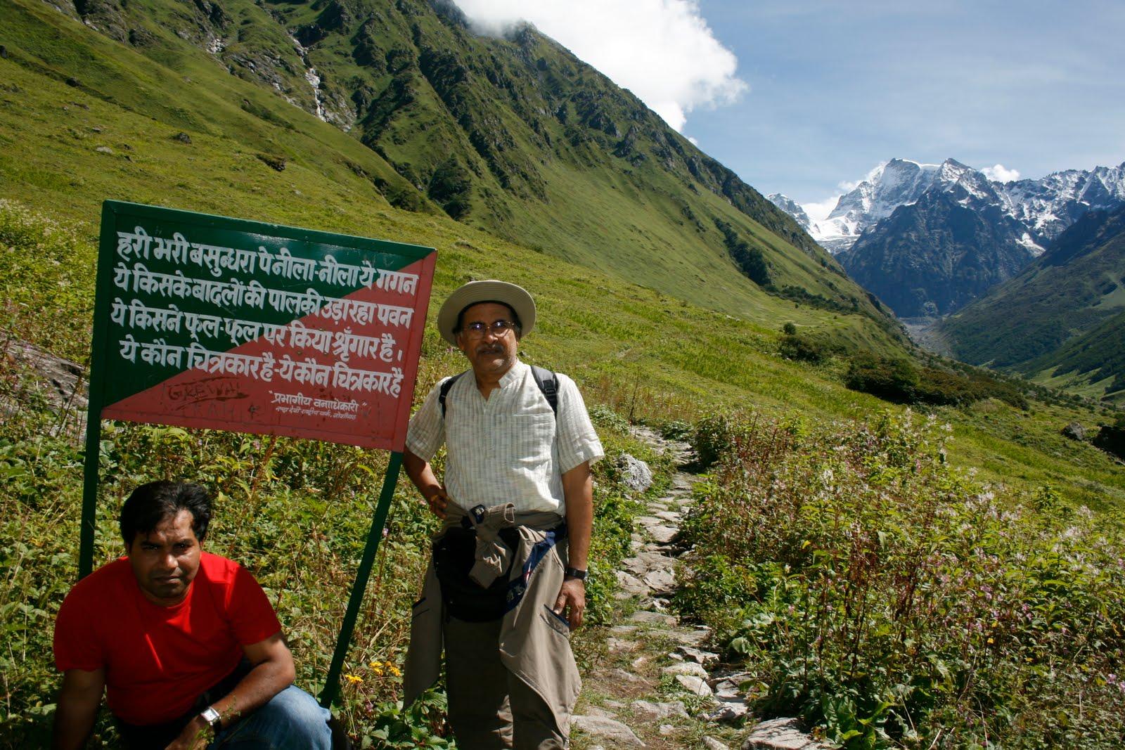 Himalayan Adventurer: TREK TO VALLEY OF FLOWERS AND