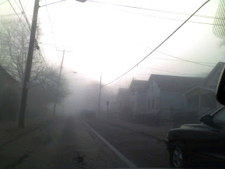 Tremont Morning Fog on my street