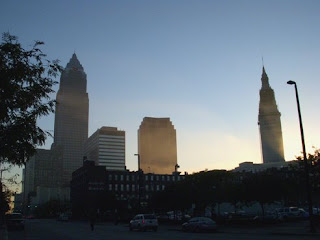 Cleveland Morning Skyline