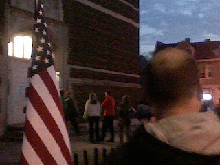 Early Morning Voting in Tremont