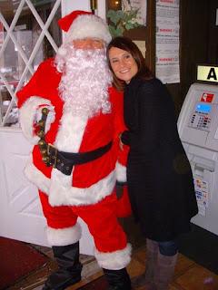 Santa makes a visit