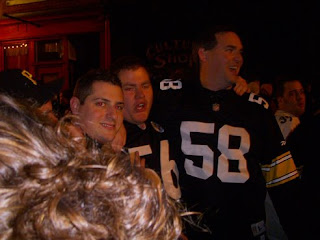 Bill Nawrocki Cheers On Steelers