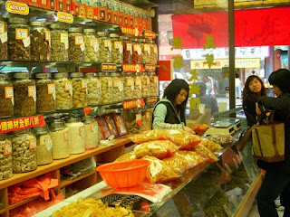 Spice Store in SanFrancisco's China Town