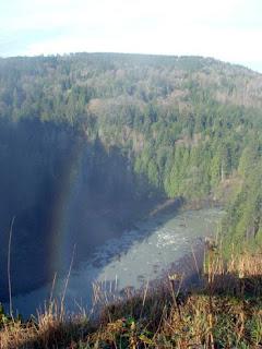 Rainbow near Snoqualmie Falls