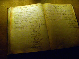 Old Log Book at the Guinness Factory