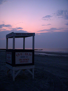 Sunrise at Ocean City NJ Beach