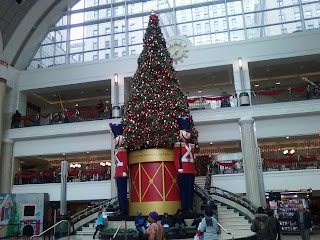 Christmas Tree at Tower City