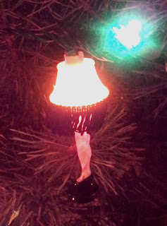 Leg Lamp on Tree