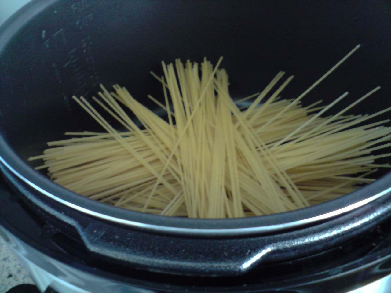 Cocinando con gm spaguetti en olla gm c de 10 litros for Cocinar con olla gm