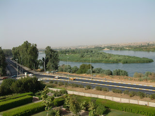 green in iraq+mosul city