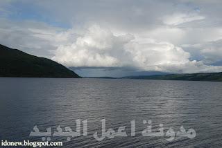 بحيرة لوخ نيس في اسكتلنده