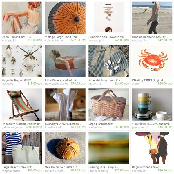 Pawling - Saturday at the Beach Etsy Treasury