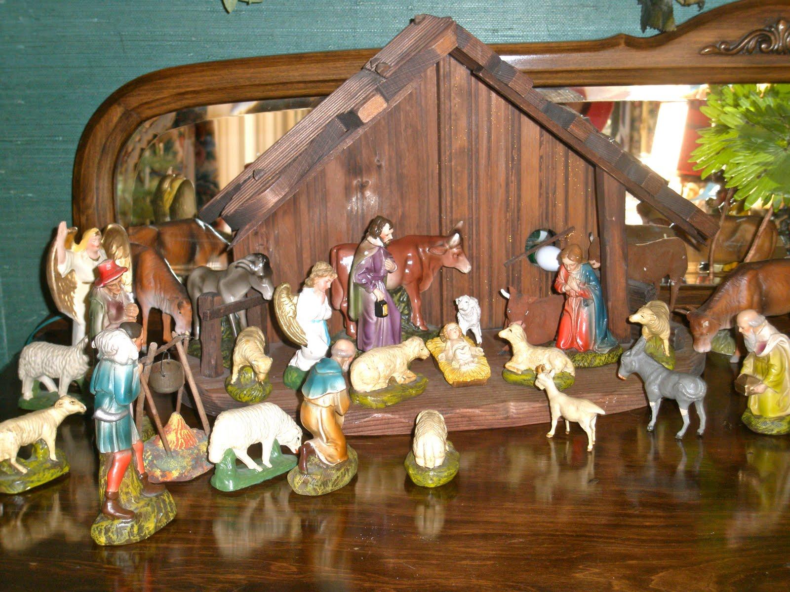 Vintage retouché christmas traditions