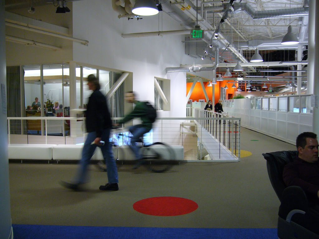 Google's Mountain View Office – Amazing Corporate Office ...
