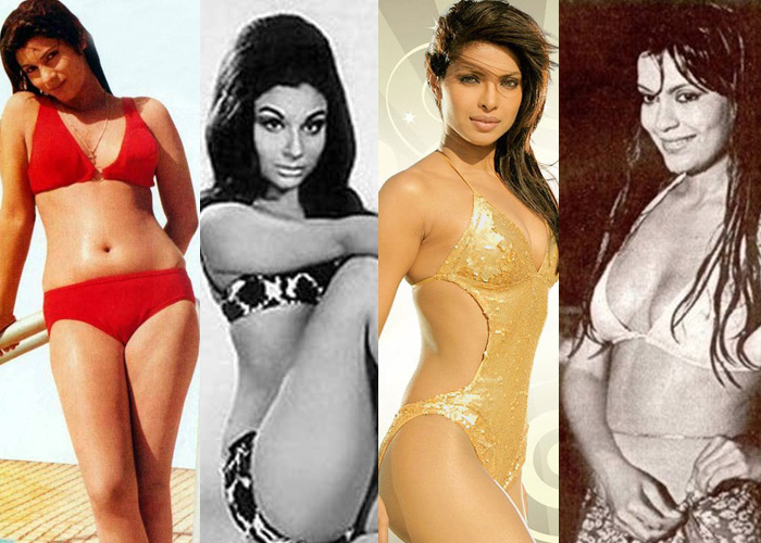 Bollywood Actresses in Bikini Classic and Latest Gallery