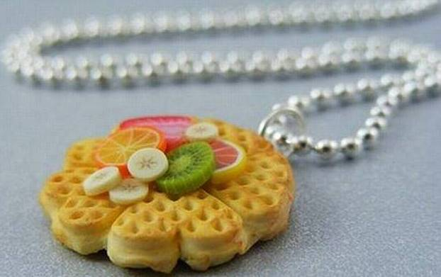 Innovative Design - Food Shaped Jewelry