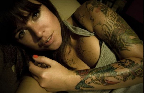 Flower Mermaid Tattoo Pics Designs On sleeve Girls