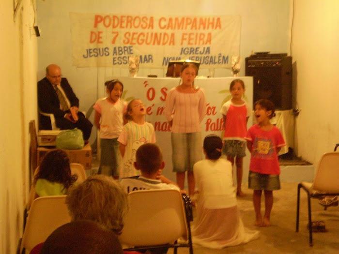 culto das crianças