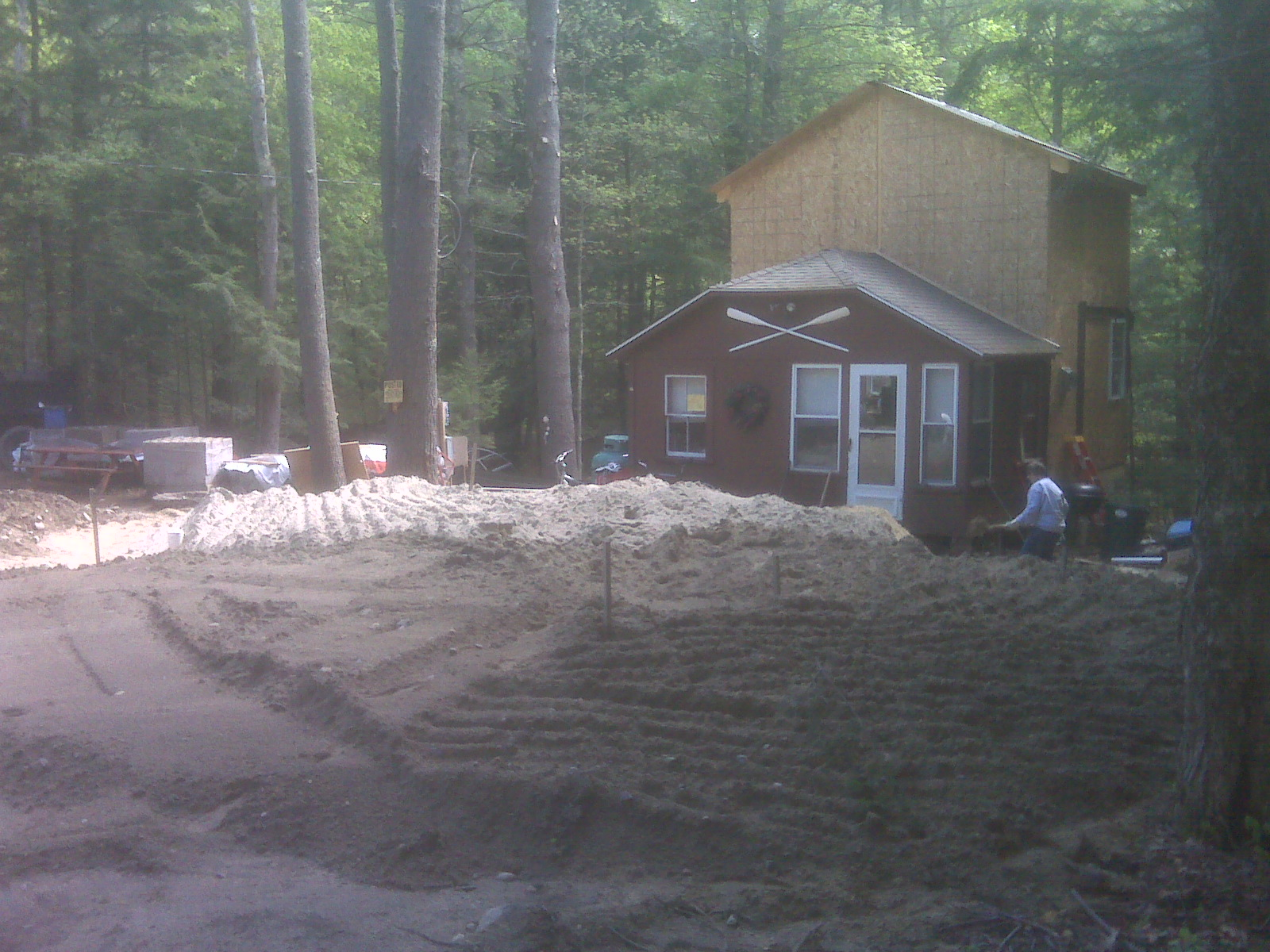 Blog cabin adventure the system of the septic for Cabin septic systems