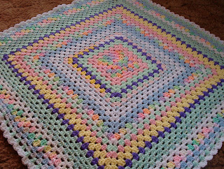 how to crochet granny square, basic granny square pattern, Simple