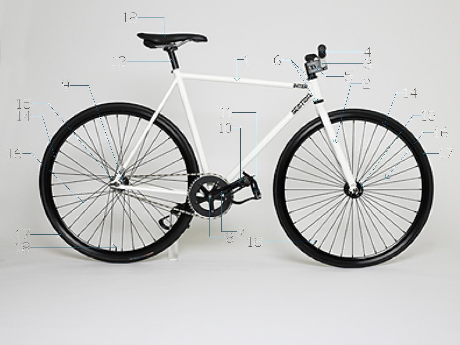 Gambar Sepeda Fixie